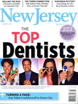 NJ Top Dentists 2011