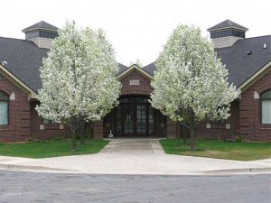 Front view of office building at Graef-Richardson office