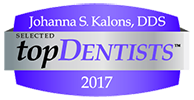 Johanna Kalons DDS top Dentists 2017