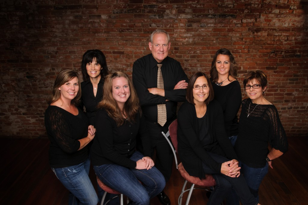 Dr. Carlson and the staff of Med City Dental