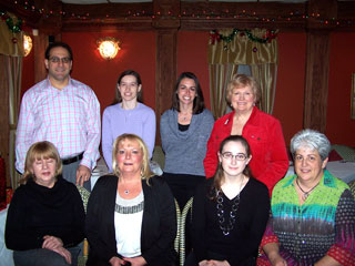 Bridgewater Family Dental photo of staff holiday party