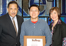 Dr. Lim General Dentist in New York, receives the Kellogg Award