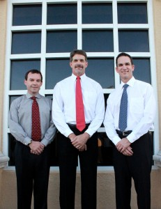 Doctors Hogan, Streater and Tejera of Southwest Florida Oral and Facial Surgery.