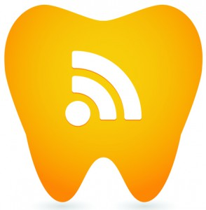 Tooth illustration with icon